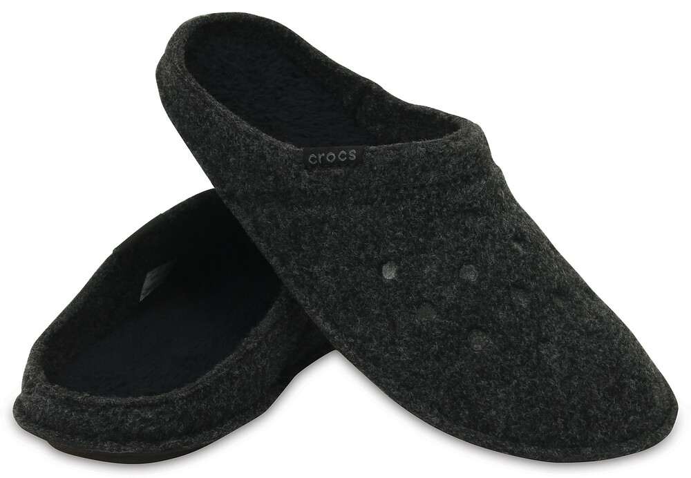 Crocs CLASSIC - Chaussons noir 3U06wHjp0c